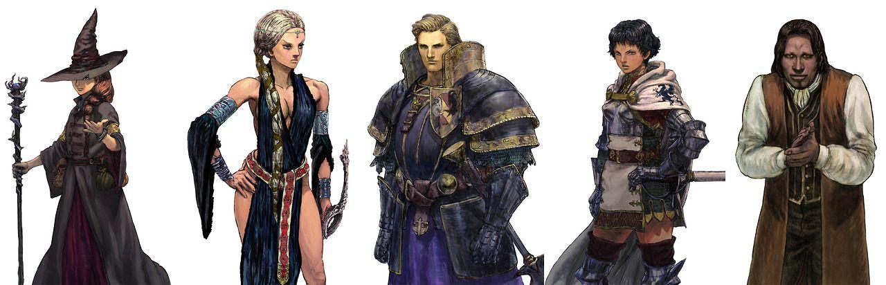 Dragon S Dogma Quest Looks Like Ikeno Art Dragon S Dogma Fantasy Fashion Fantasy Lord
