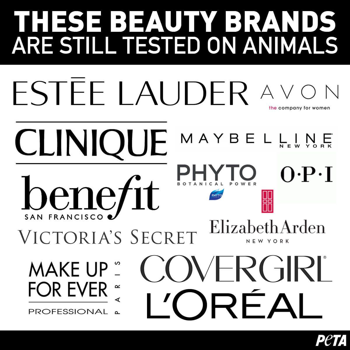 These Beauty Brands Are Still Tested on Animals Best