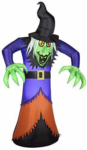 Halloween Inflatable 7 Evil Witch By Gemmy \u003e\u003e\u003e Read more at the - lowes halloween inflatables