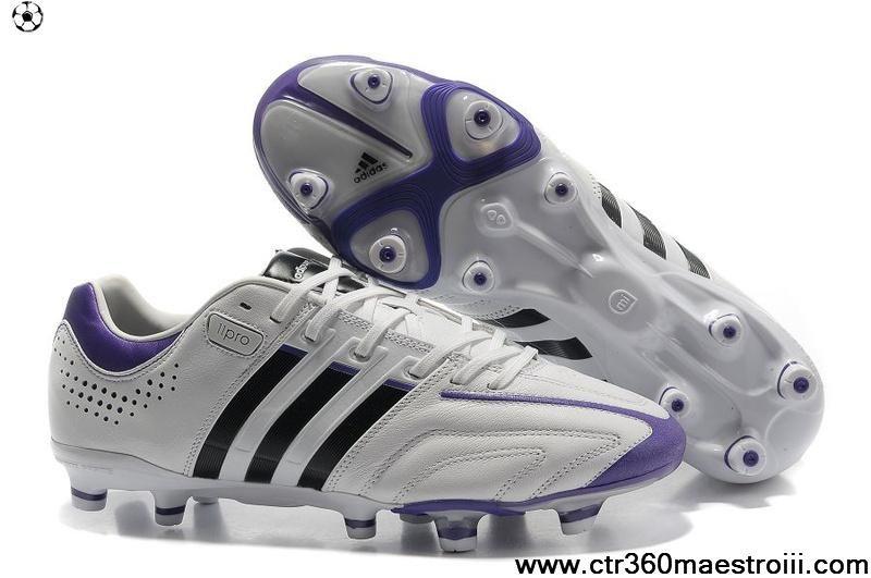 premium selection c7971 5c155 Sale Discount Adidas Adipure 11Pro TRX FG White-Night Sky-Ultra Purple Football  Shoes Shop