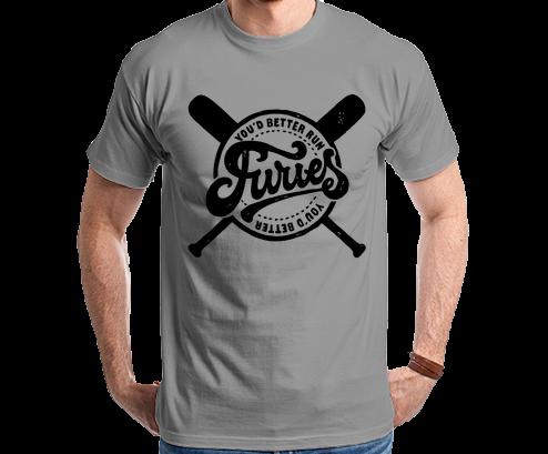 The Warriors Furies You d Better Run Tshirt Camiseta Camisa Tee