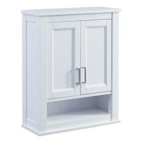 Scott Living Durham 24In W X 30In H X 10In D White Bathroom Custom Bathroom Wall Cabinet 2018