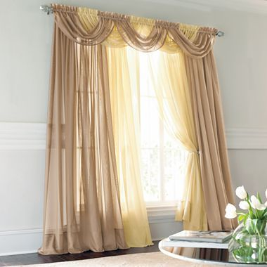 Jcpenney Lisette Sheer Curtains Www Myfamilyliving Com