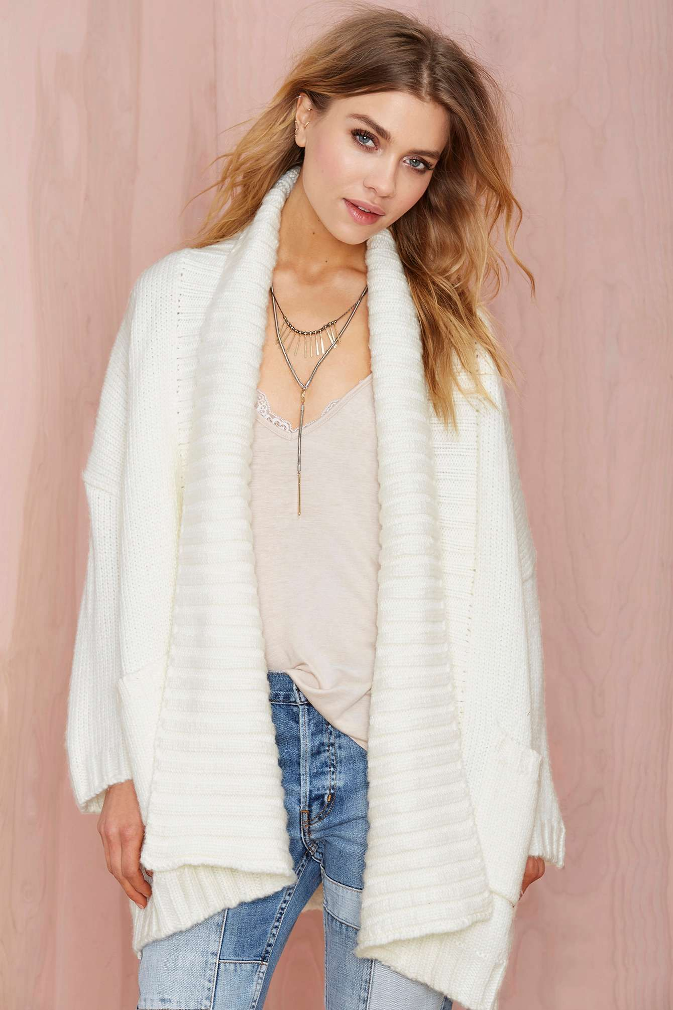 Nasty Gal Angelica Sweater Cardigan | Cardigans For Men ...