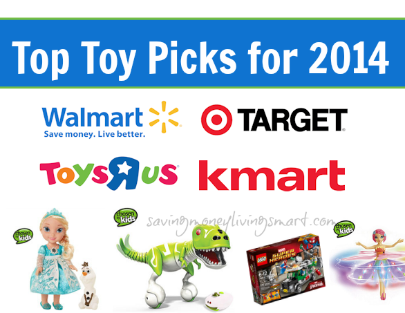 "Top Toy Lists from Walmart, Target, Kmart & Toys""R""Us for Holiday Shopping Season 2014"