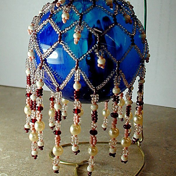Free Beaded Ornament Patterns Instructions | Free pattern beaded christmas ornament - 403 Forbidden