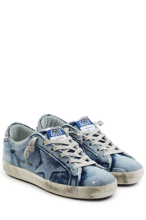 e766e6574be58 #goldengoose #shoes #   Golden Goose in 2019   Denim sneakers, Sneakers  fashion, Only jeans