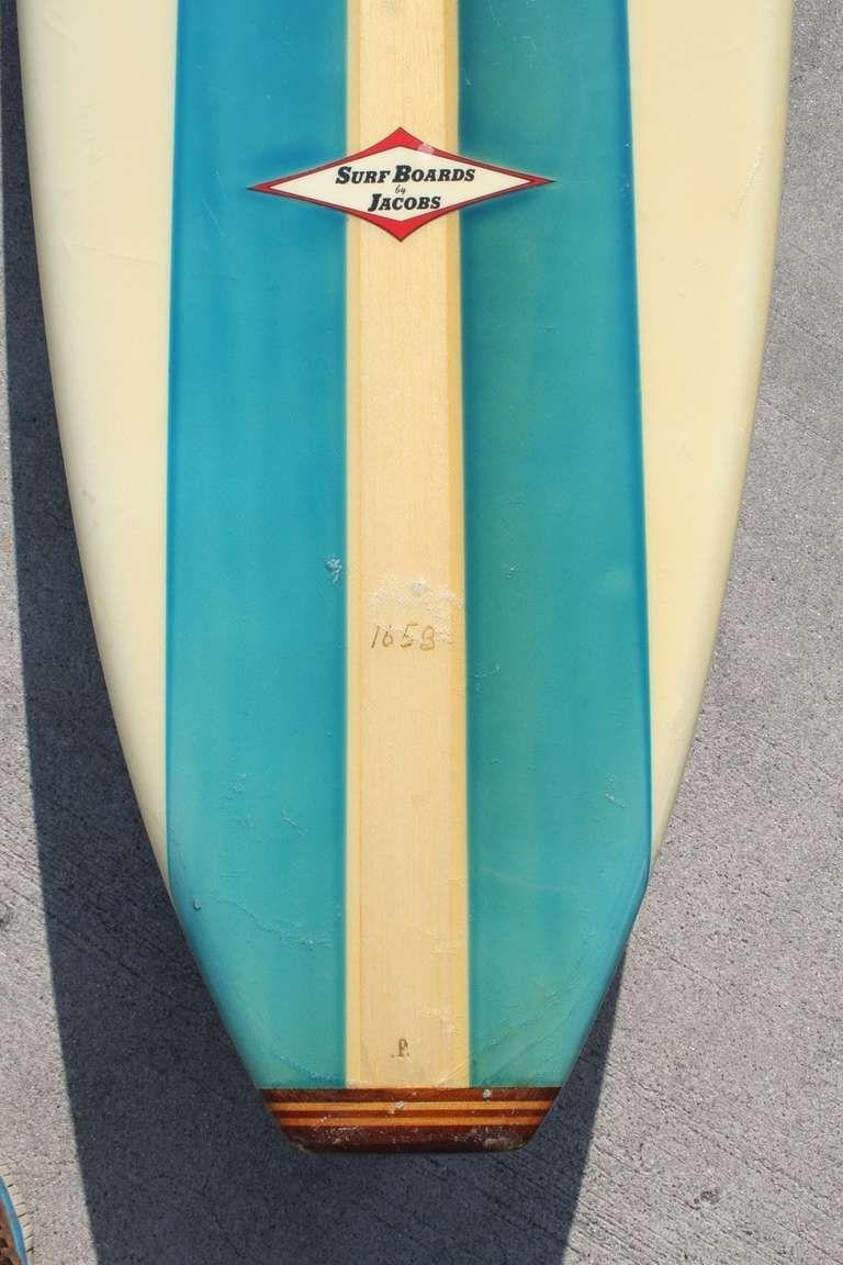 All Original Hap Jacobs Surfboard 1959 Hermosa