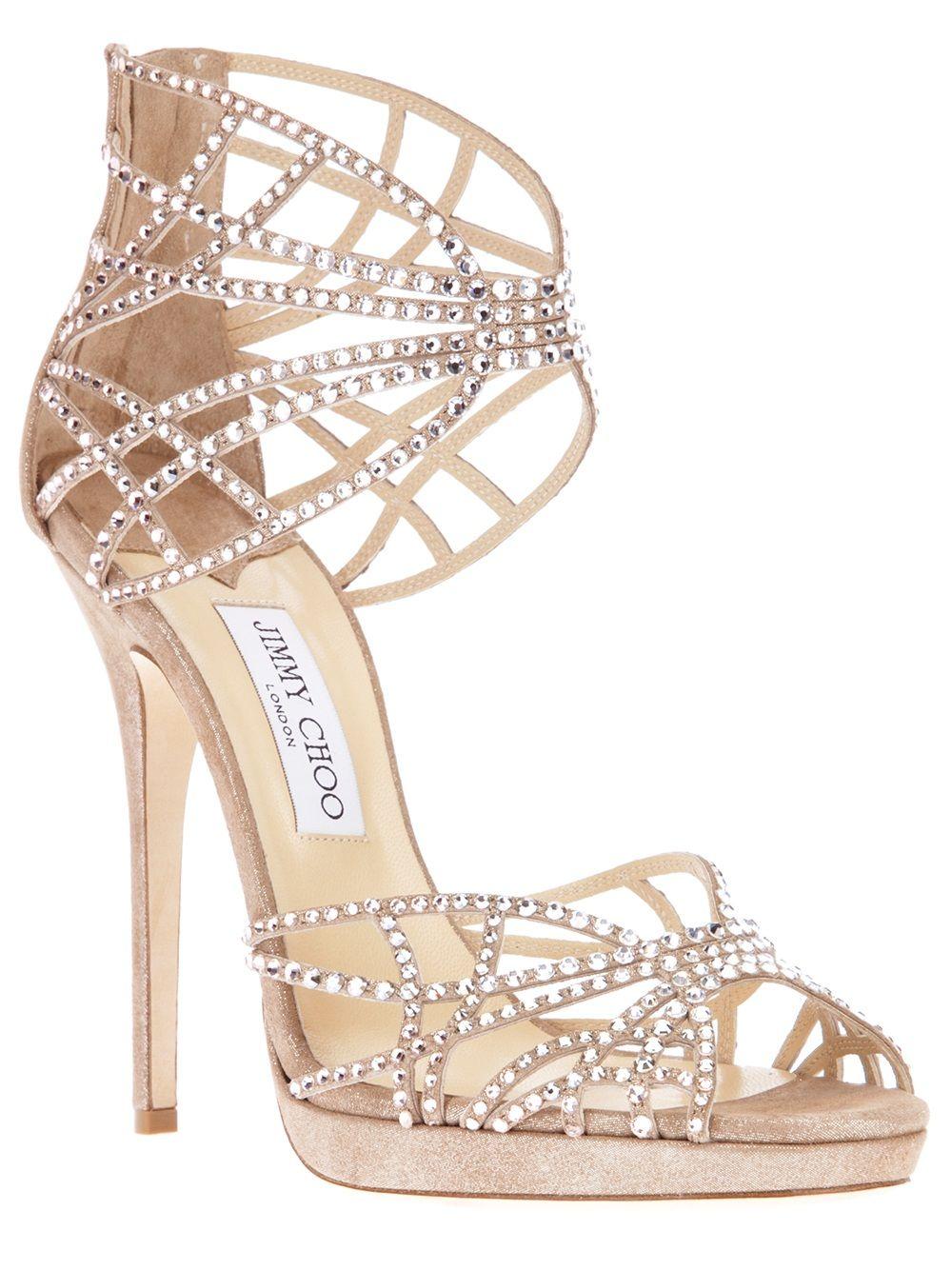 7314e979d8e JIMMY CHOO 'Diva' sandal pump | Dress Up in 2019 | Shoes, Prom shoes ...