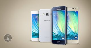 Harga HP Samsung Galaxy A3 Spesifikasi RAM 1GB Terbaru