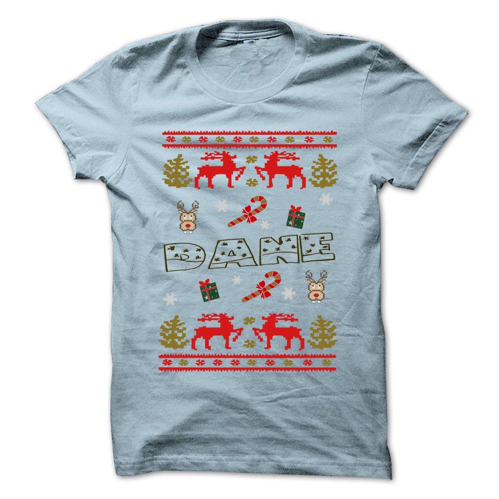 Christmas Dane 999 Cool Name Shirt Buy Daily Shirts Cool