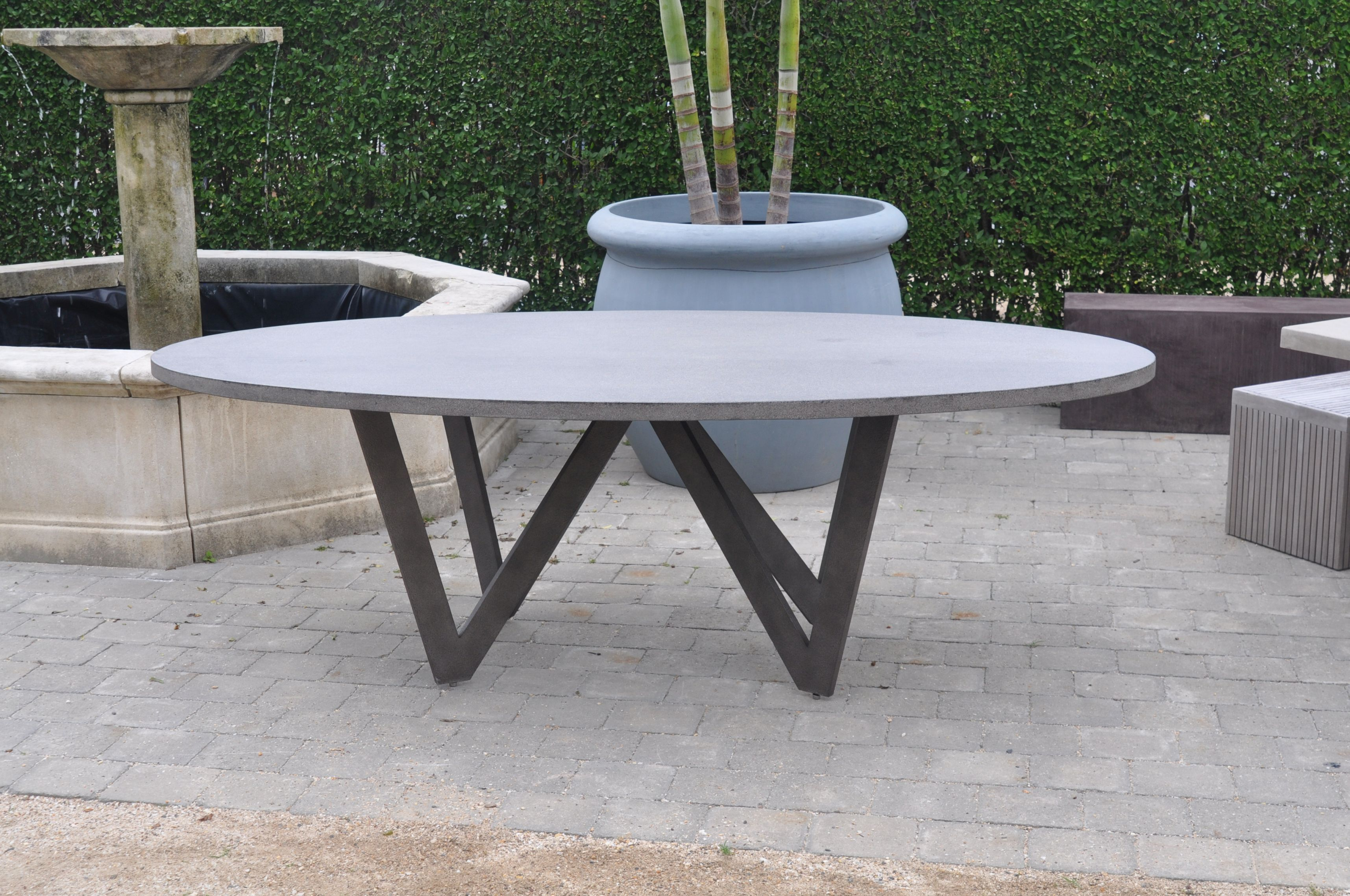 Oval Outdoor Coffee Table The Coffee Table