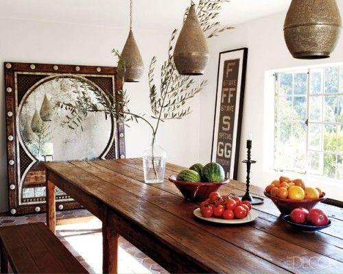 Décorer Une Salle à Manger Avec Une De Ces Belles Et Grandes - Decoration pour table de salle a manger