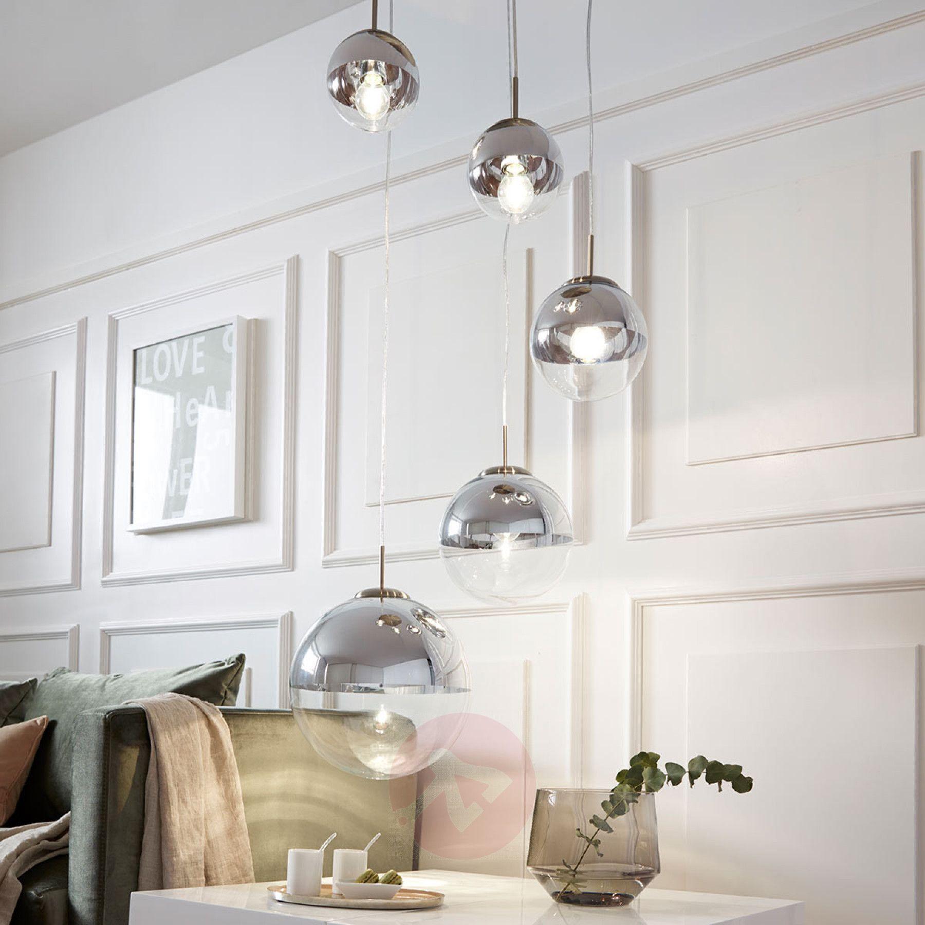 Lampa Wiszaca Ravena Kule Szklane 5 Punktowa Lampy Pl Pendant Light Room Lights Buy Pendant Lights