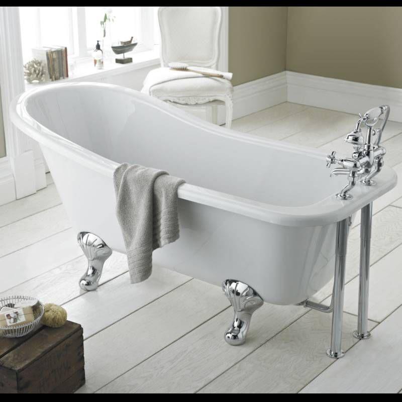 Robinets de baignoire autoportants traditionnels Cambridge