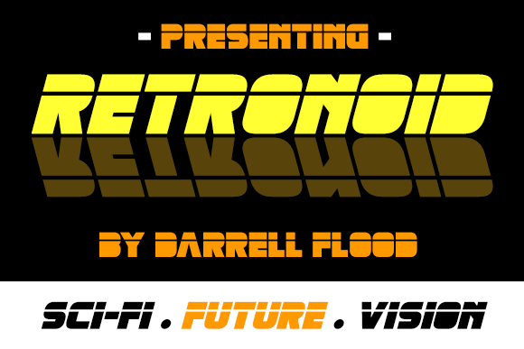 Retronoid | Graphic Design, Fonts, and other files or