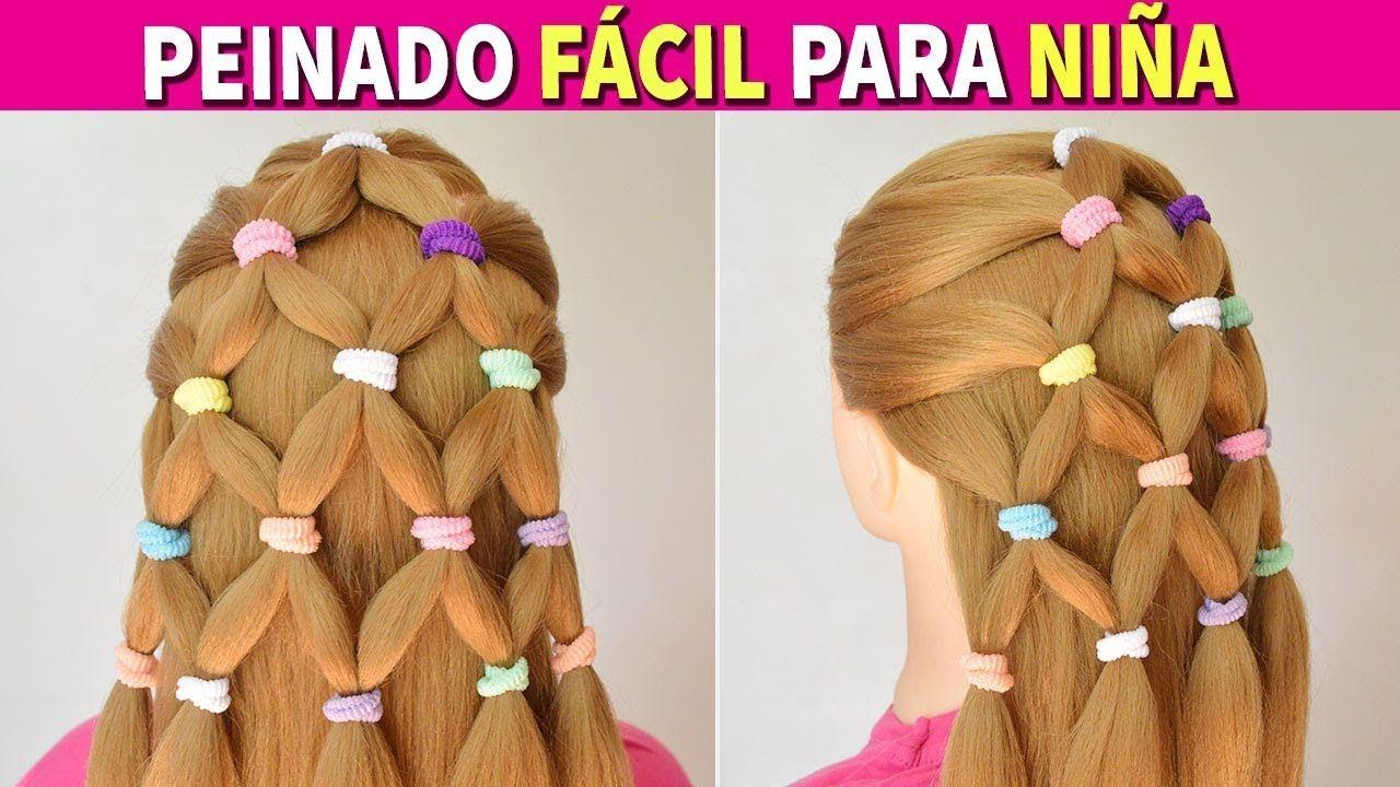 Peinados Faciles Y Rapidos Y Bonitos Con Trenzas Para Nina Recogidos Para Fiestas Cabello L Peinados Faciles Y Rapidos Trenzas De Ninas Peinados Faciles