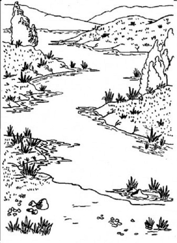 mississippi river coloring pages for kids | coloring Pages | Pinterest