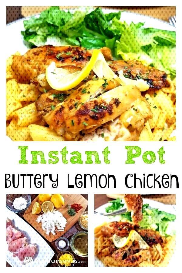 Instant Pot Buttery Lemon Chicken