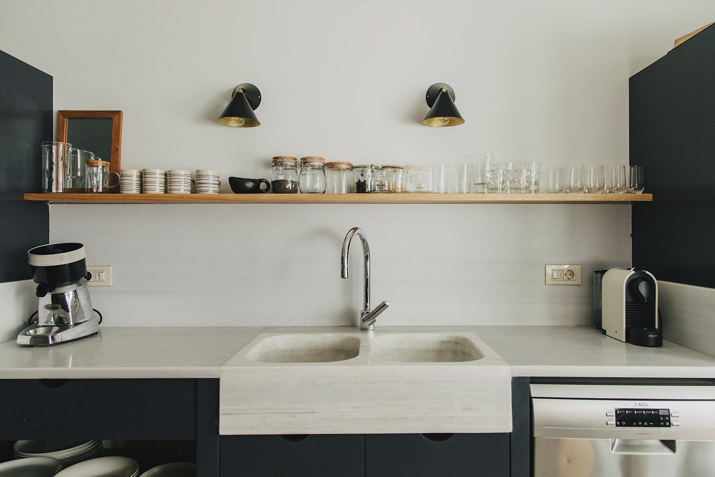 Parisian Style In Barcelona By Conti Cert Modern Kitchen Ideas