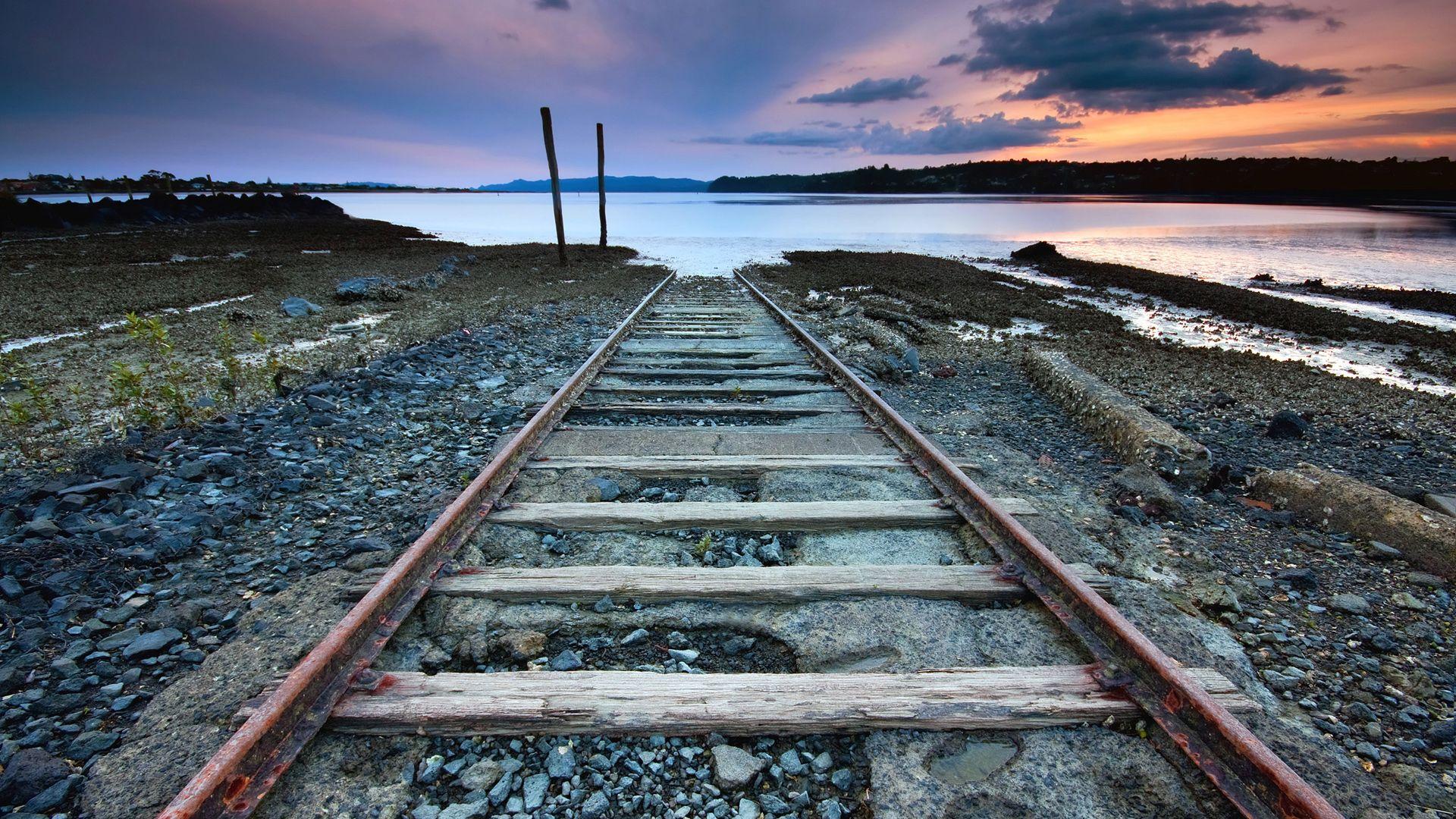 rail line in hd