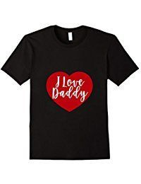 I Love Daddy T Shirt Valentine Gifts Usa States Awesome Tshirts