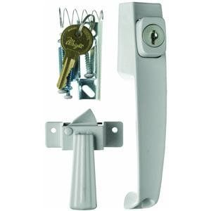 Wright Products Hampton Vk333x3 Push Button Key Lock By Wright 16 23 For Outswinging Wood Or Metal Doors Fits Door Metal Door Screen Door Hardware Hardware