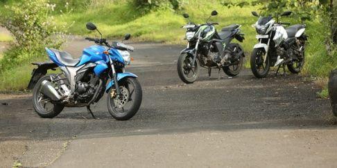 Suzuki Gixxer Vs Yamaha Fz S Fi Vs Tvs Apache Rtr 180 Comparison