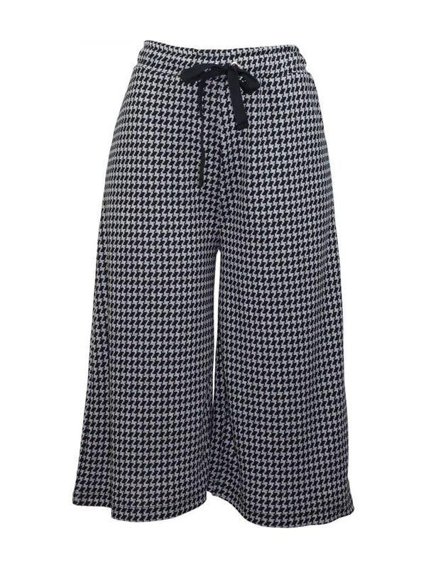 Calça Pant Court Bicolor | Calça 97%poliéster 3%elastano  A pant court é leve, confortável e clássica. Ela compõe muito bem looks casuais e modernos para o dia a dia.