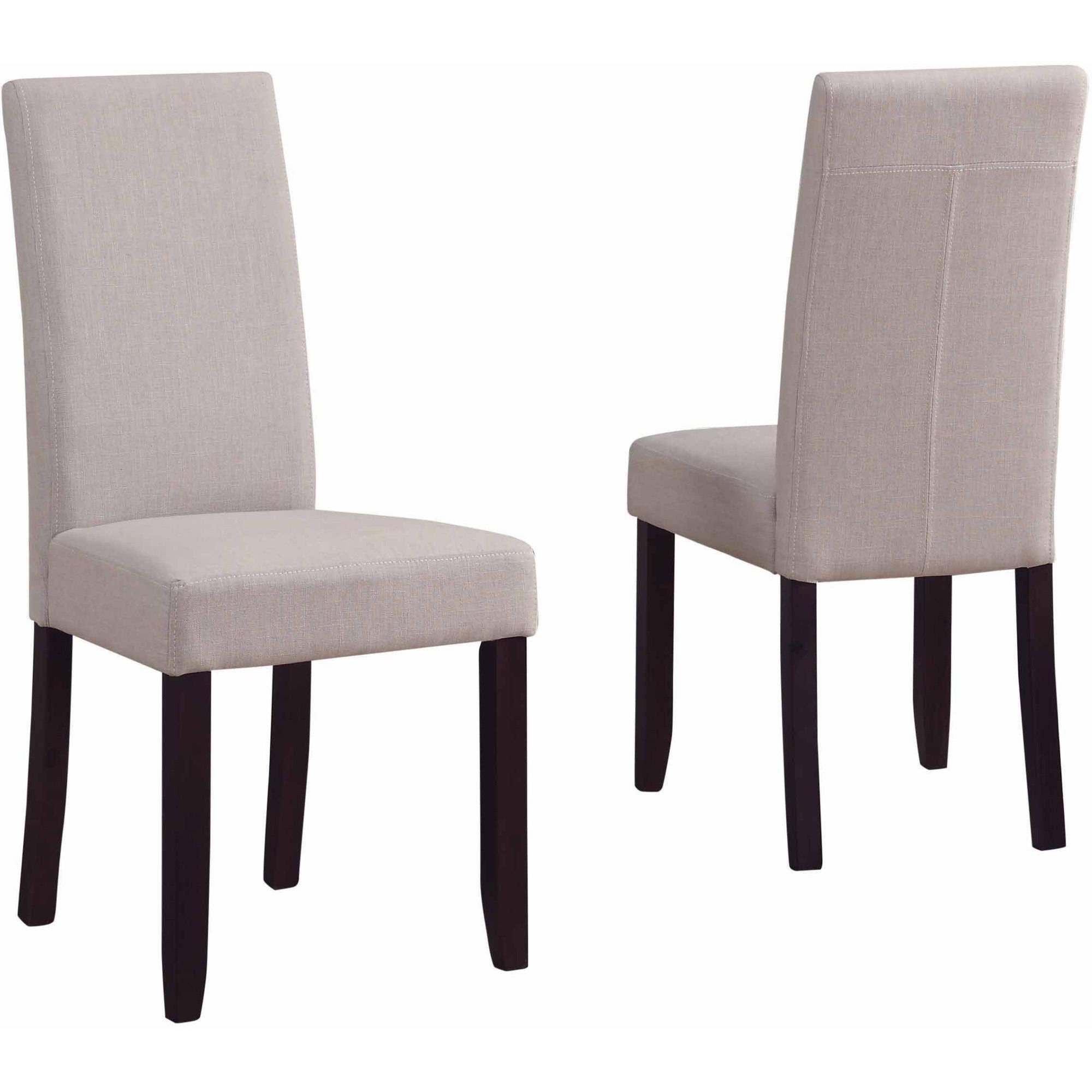 Brooklyn + Max Brunswick Parson Dining Chairs, Set of 2 - Walmart.com