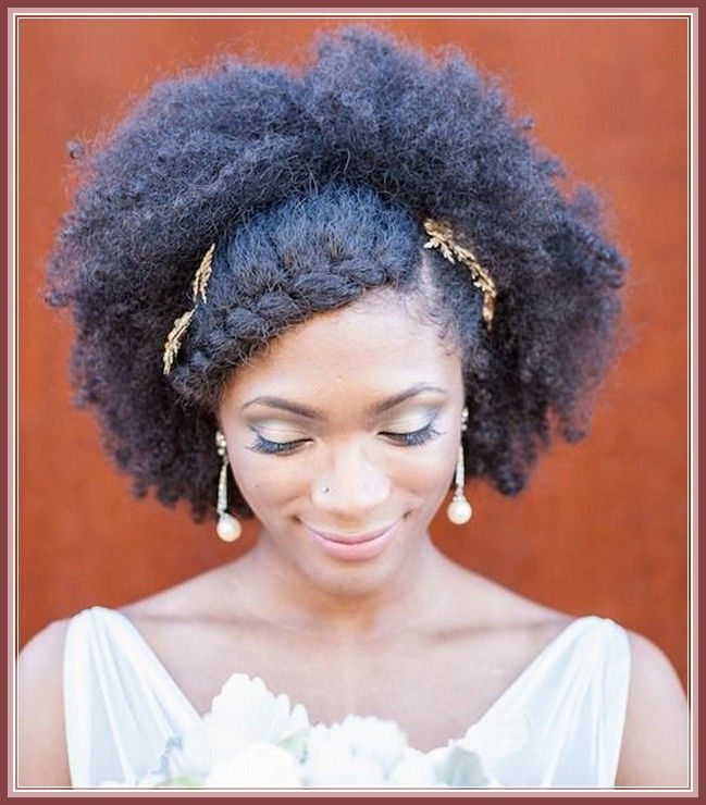 Natural Hair Wedding Hairstyles Idea In Hairstyle