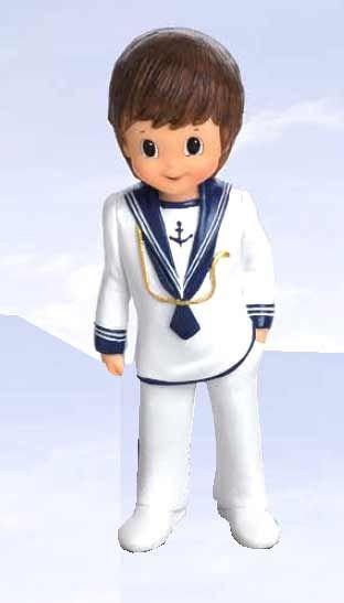 Figura Comunión niño marinero cordón dorado  60-1670  - 1.30 €   Cosas43 43b132c929336