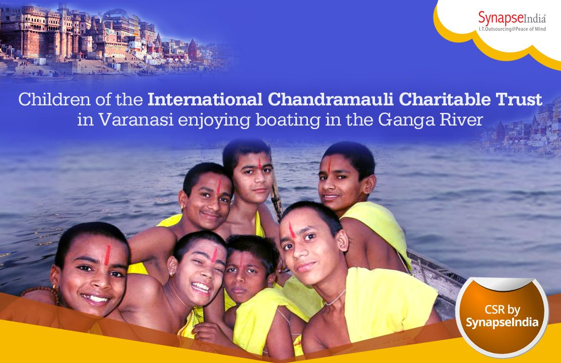 Children of the International Chandramauli Charitable