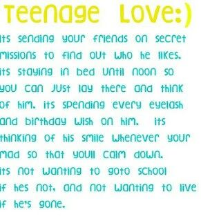 Teenage Love Quote Tumblr