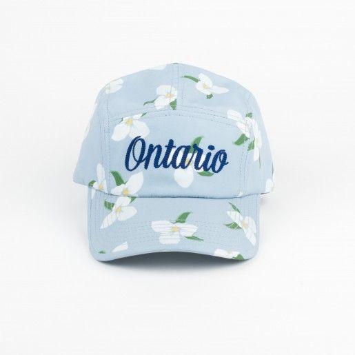 e5d2e766eaf Drake General Store - 5 Panel Provincial Flower Cap - Ontario