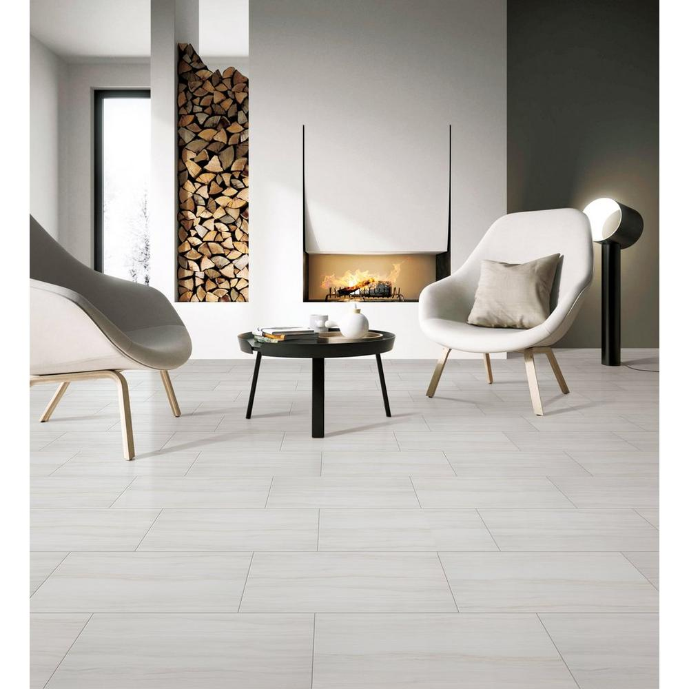 Impress White Matte Porcelain Tile Floor Decor Tile Floor Living Room Living Room Tiles Porcelain Tile Floor Living Room