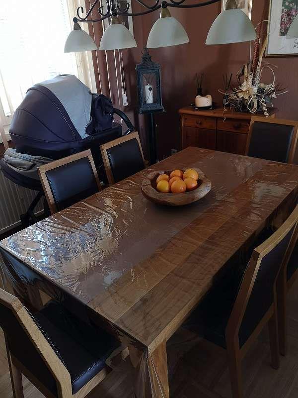 Eiche Massiv geölt Tisch + Sessel. 4.829.390 Angebote