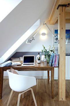 Arbeitszimmer farbgestaltung  Modern und hell: Weiß und Naturtöne. | Farbgestaltung für das ...