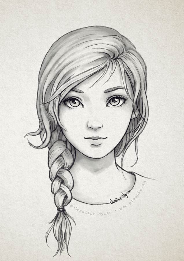 8 easy steps to drawing a portrait pdf