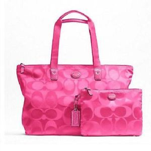 Find great deals on eBay for Pink Coach Purse in Women's ...