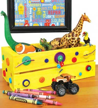 20 ideas para decorar cajas de madera recicladas diseny - Como decorar cajas de madera de fruta ...