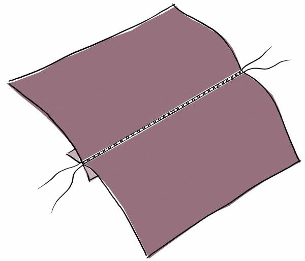 What Causes Loose Seams When Sewing Sewing Hacks Sewing Striped Quilt