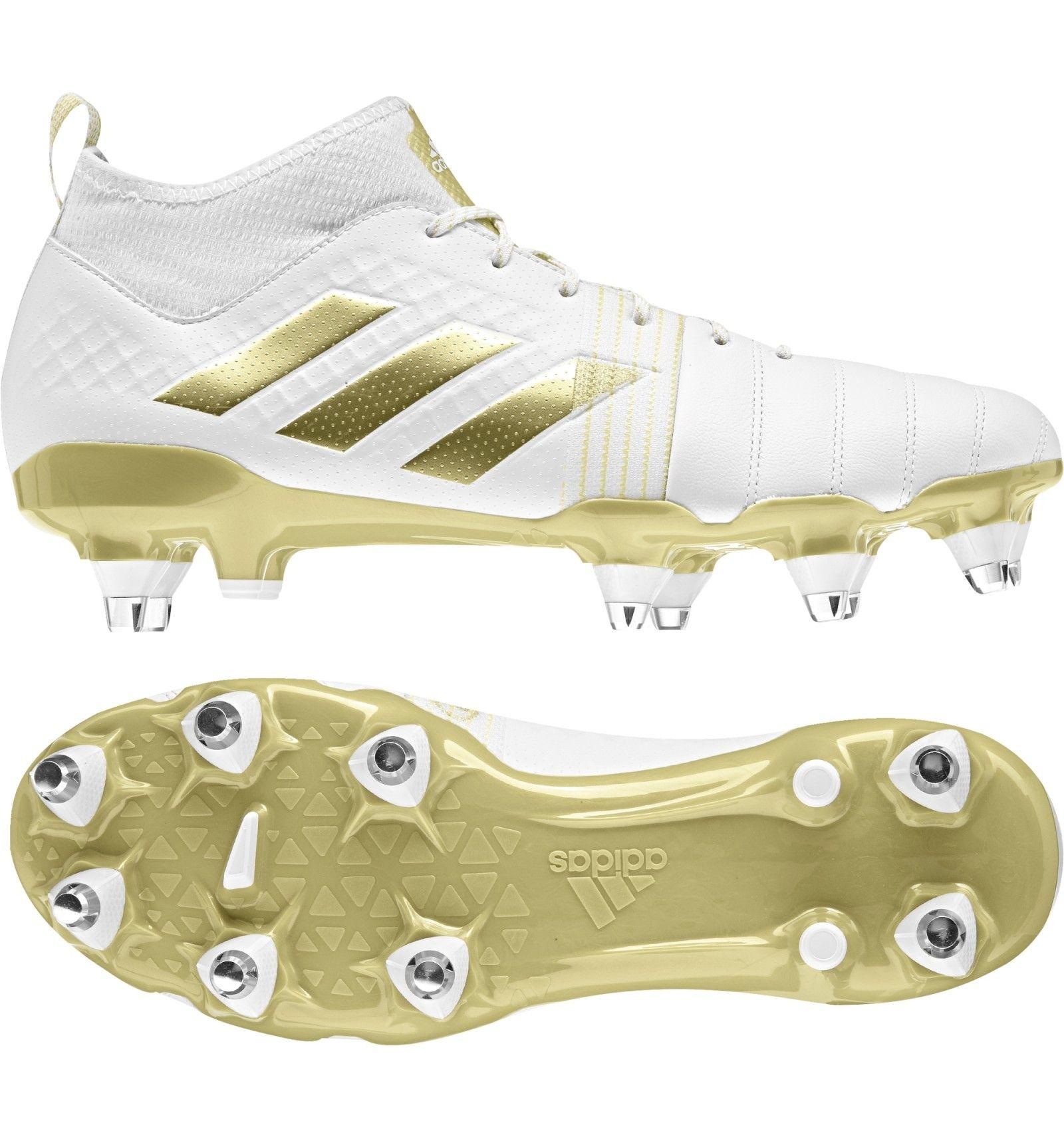 Adidas Kakari X Kevlar Rugby Boot White