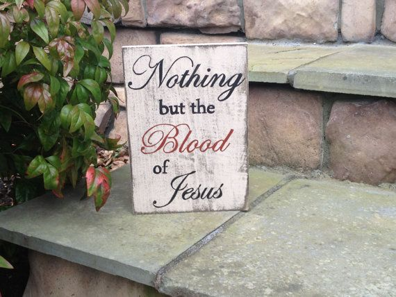 Home Decor Religious Hand Painted Wooden Sign Nothing But The Best Hand Painted Wood Signs Home Decor