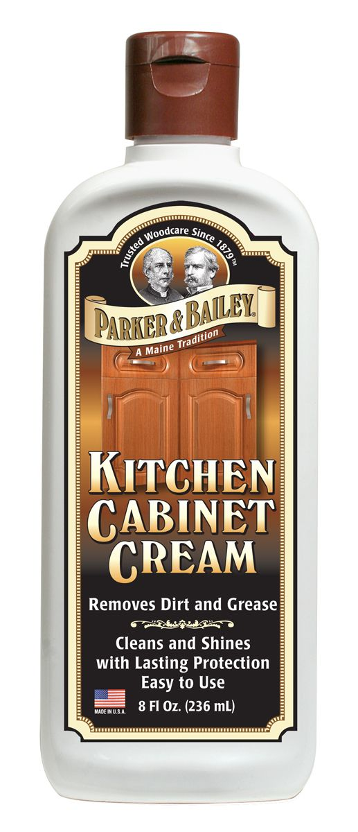 Kitchen Cabinet Cream 8oz. Clean Kitchen CabinetsCleaning Wood ...