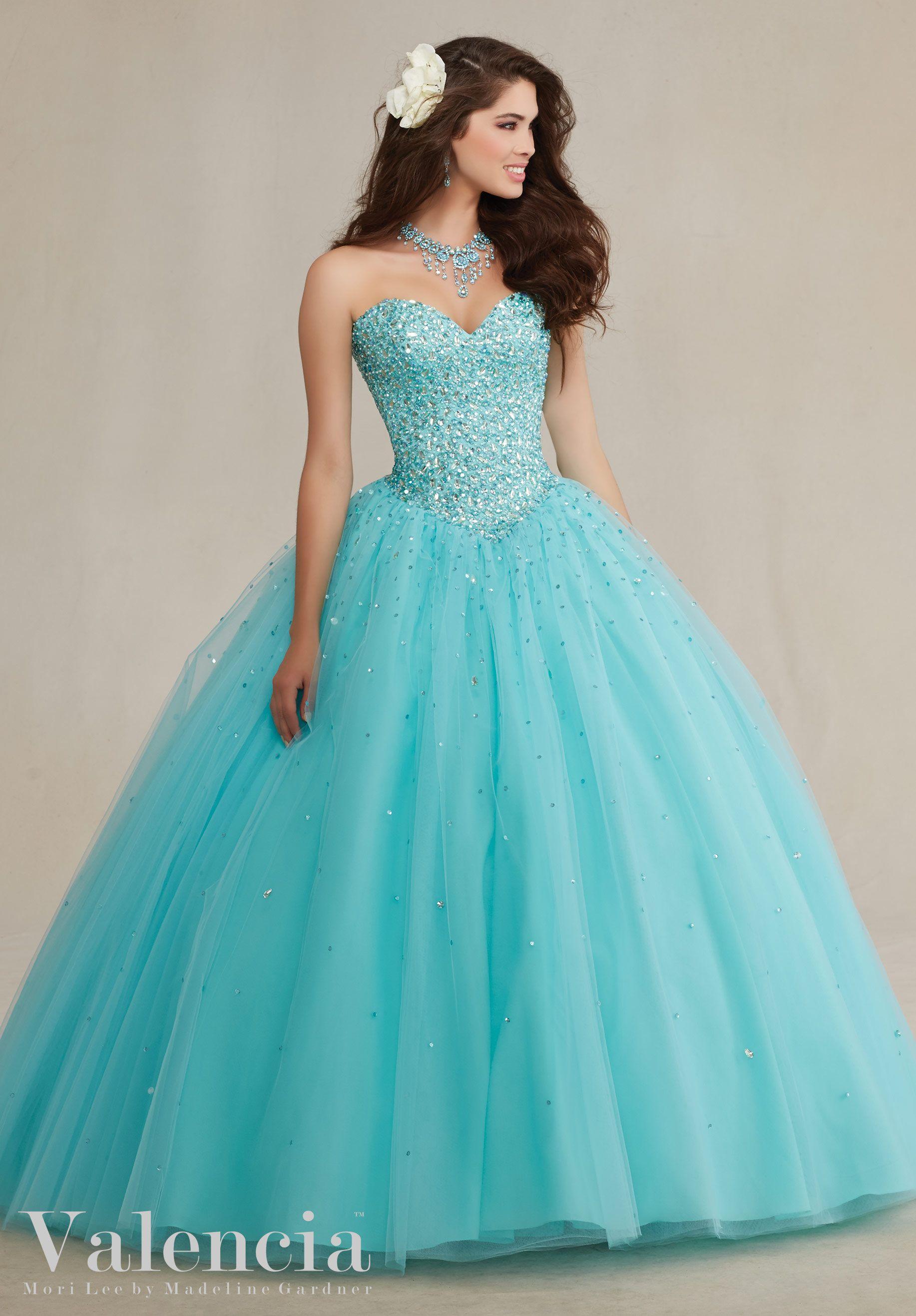 10544fc8352 Quinceanera Dresses Teal