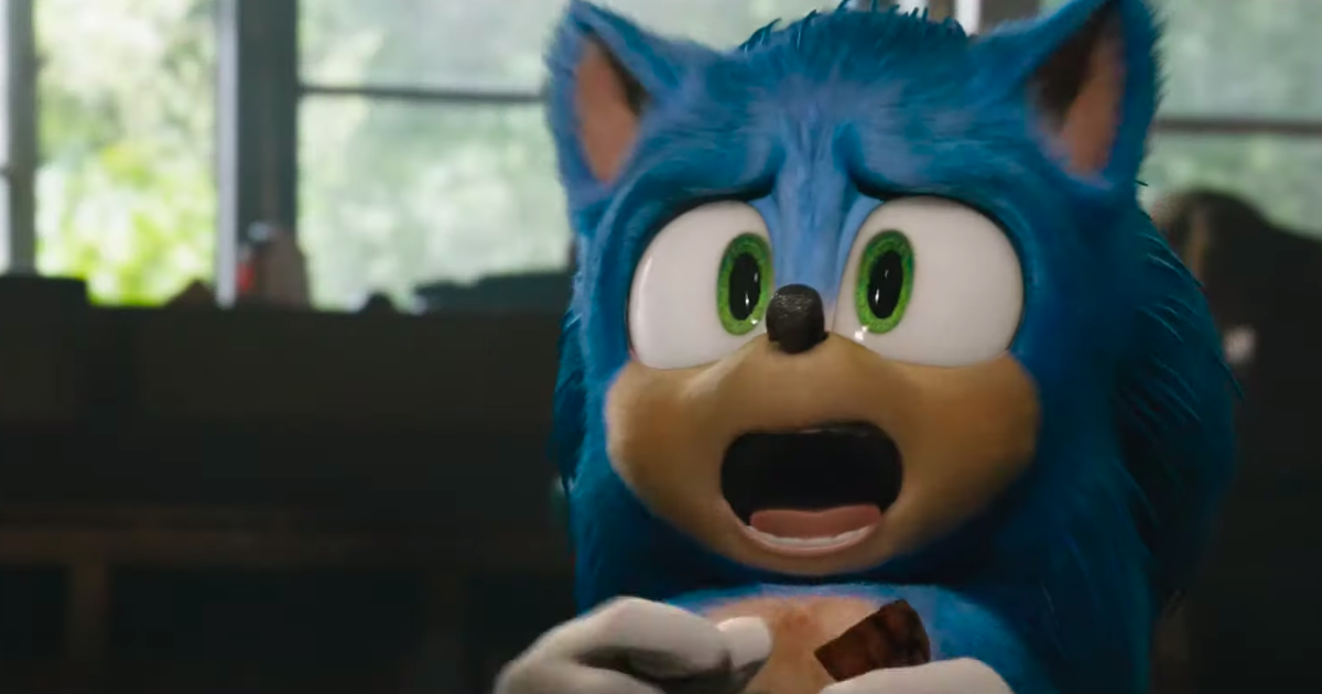 Sonic The Hedgehog Is Back With A New Trailer And They Ve Toned Down Those Creepy Teeth Sonic Sonic The Hedgehog Hedgehog Movie