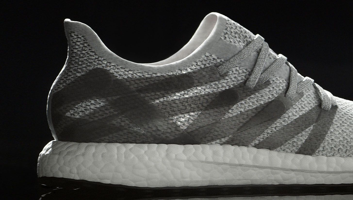 online store 5a914 8de6d Once again pushing boundaries, Adidas has unveiled the first sneaker to  make use of its new Speedfactory production process, the Futurecraft MFG.