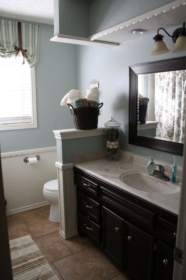 65 Ideas For Bath Room Blue Brown Navy Blue Bathroom Decor Yellow Bathroom Decor Blue Bathroom Walls