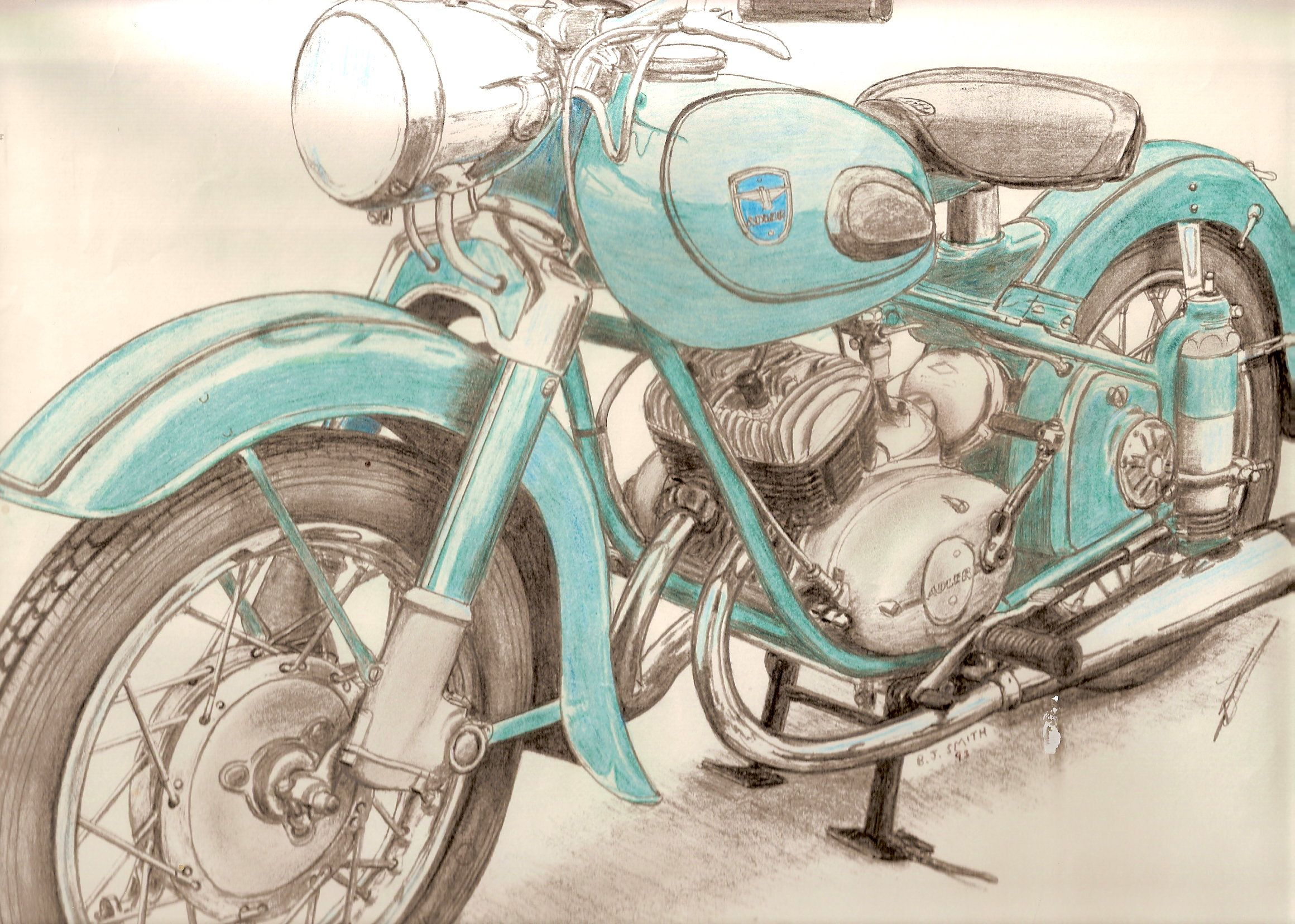Old Photos Of Motorcycles Google Search Bike Drawing